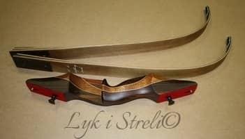 Самодельный лук из деревянных лыж