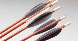 Как сделать из дерева лук и стрелы 573