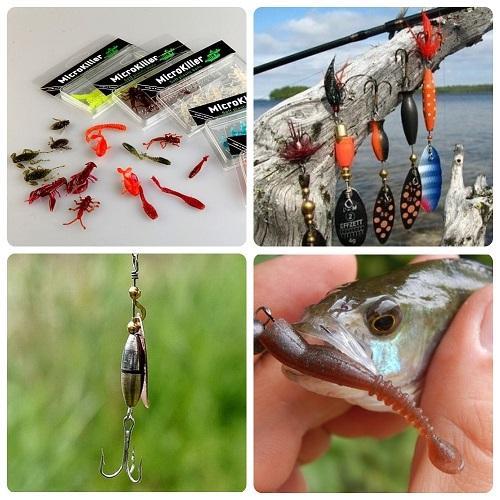 какие приманки использовать при ловле окуня с берега