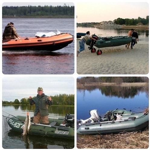 какой размер лодки оптимален для рыбалки