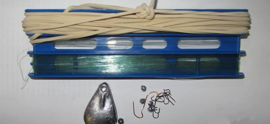 резинка для ловли рыбы