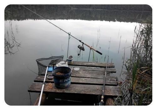как выбрать место для ловли леща на озере