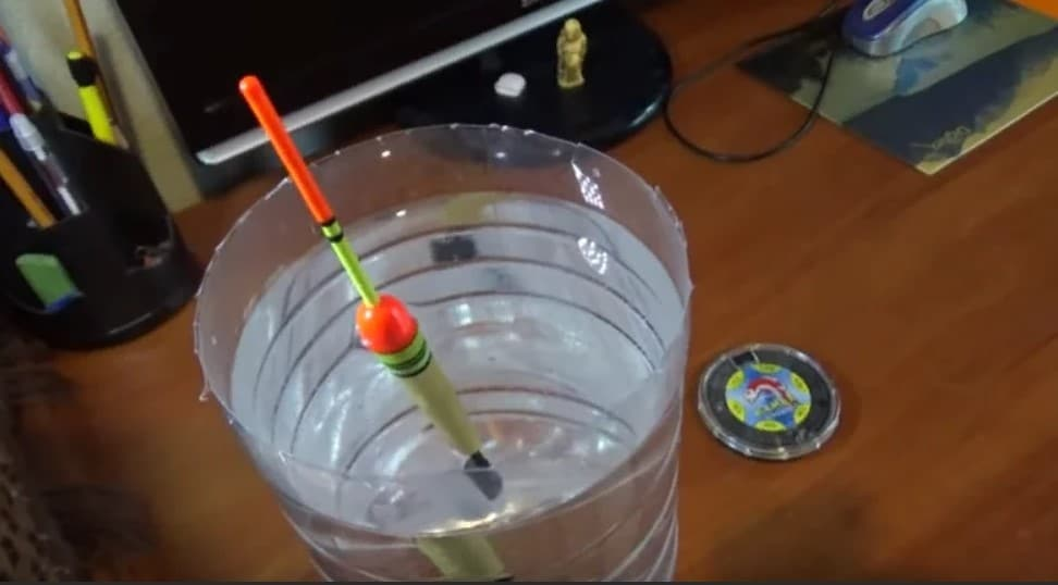 Отгрузка поплавка в стакане