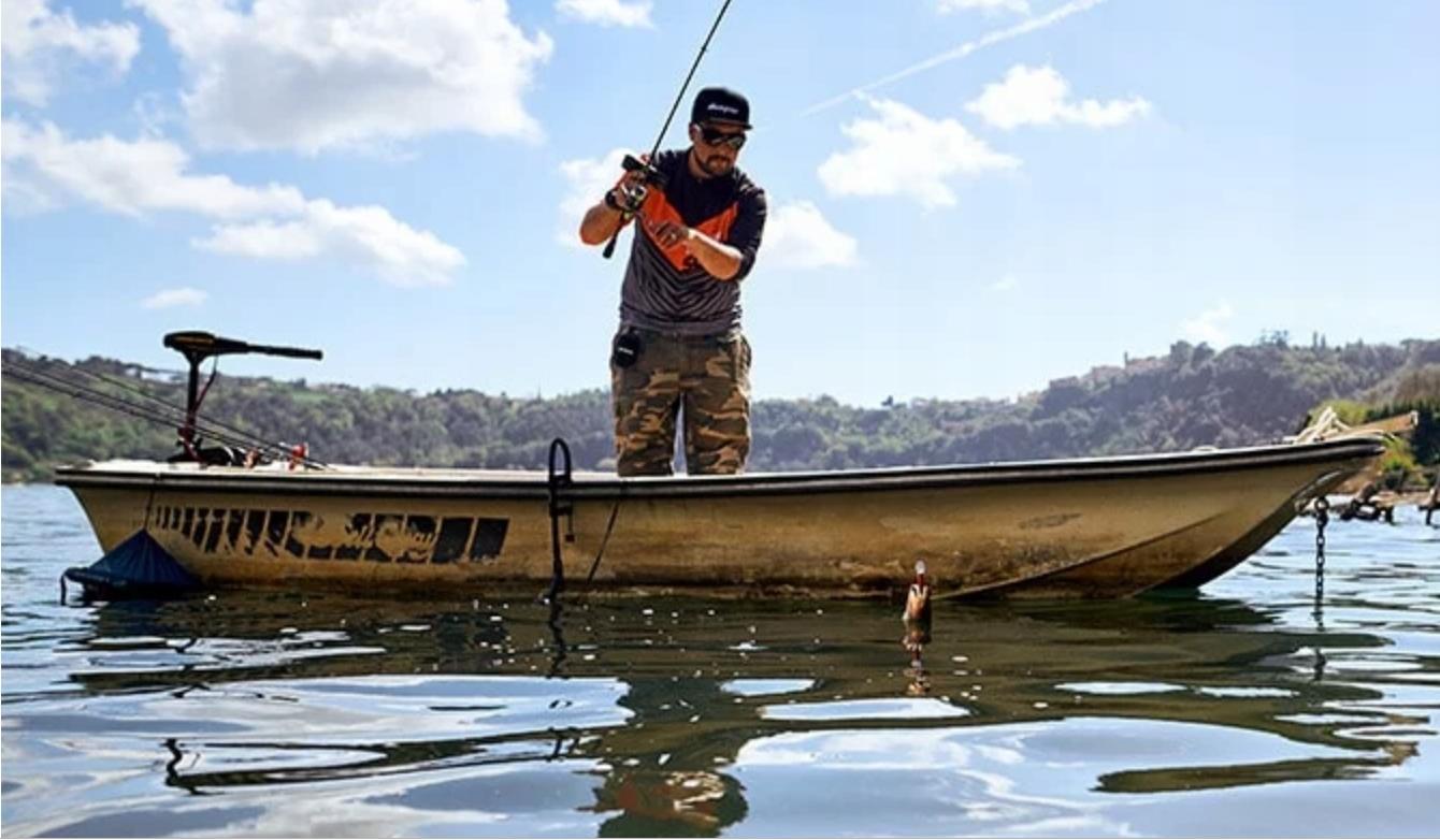Ловля с борта лодки