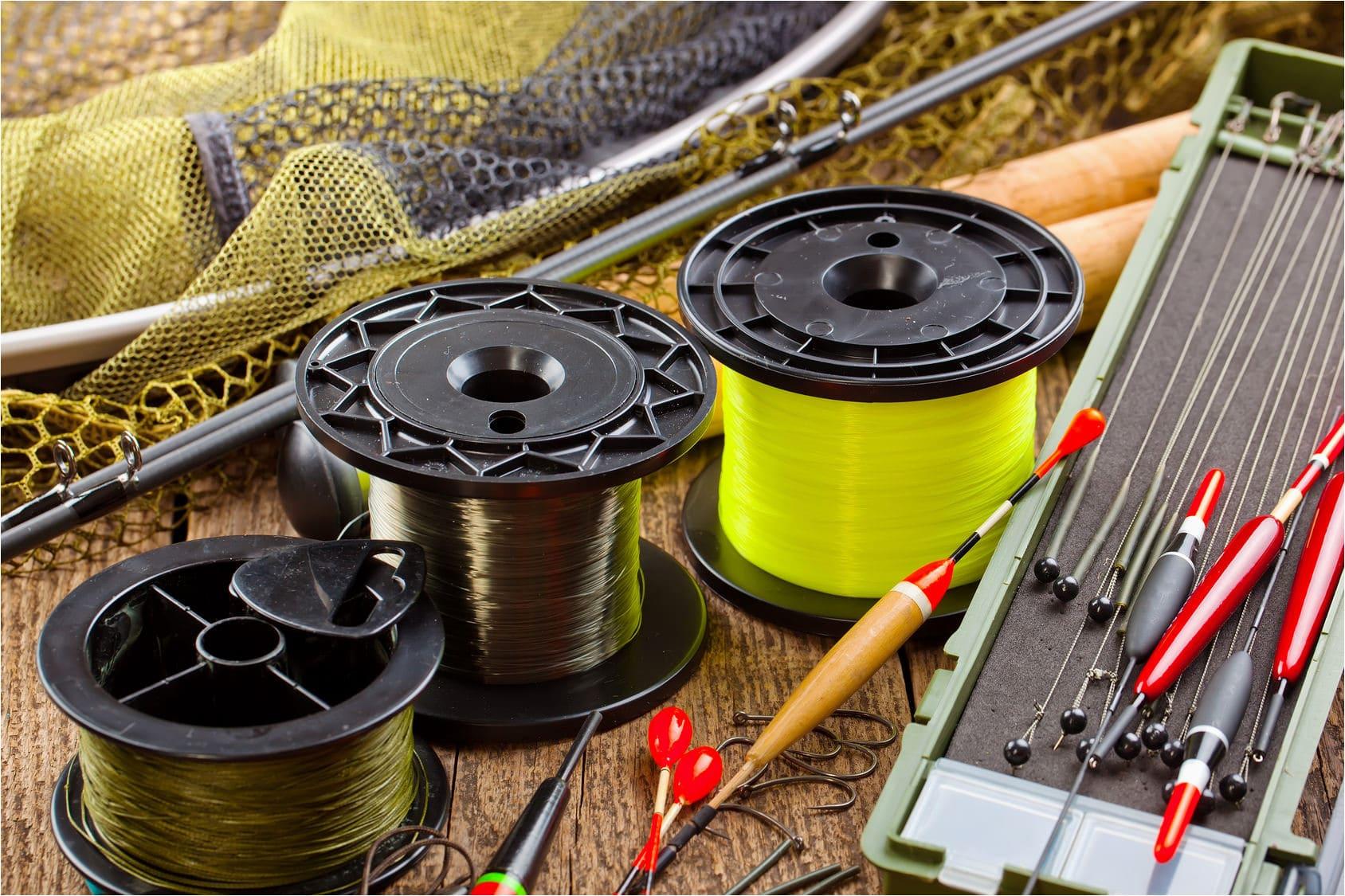 Типы рыболовных лесок