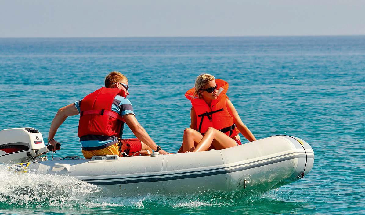 Вместимость пассажиров в лодке
