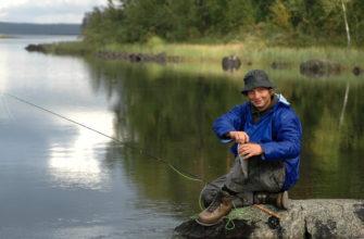 Фото рыбалка в Карелии летом