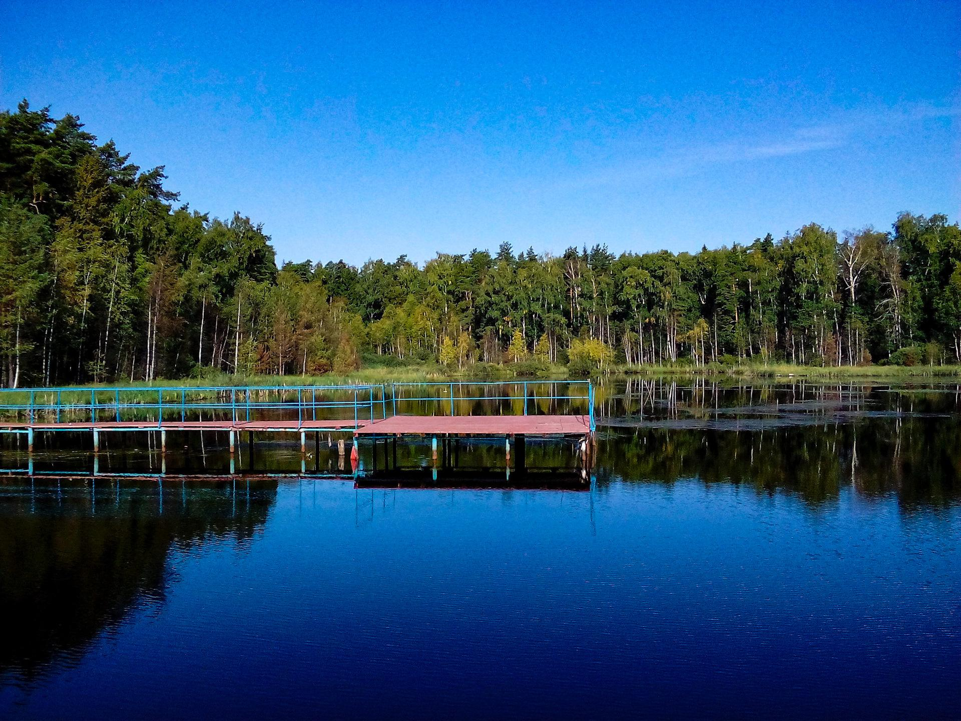 Озеро чёрное Московская область