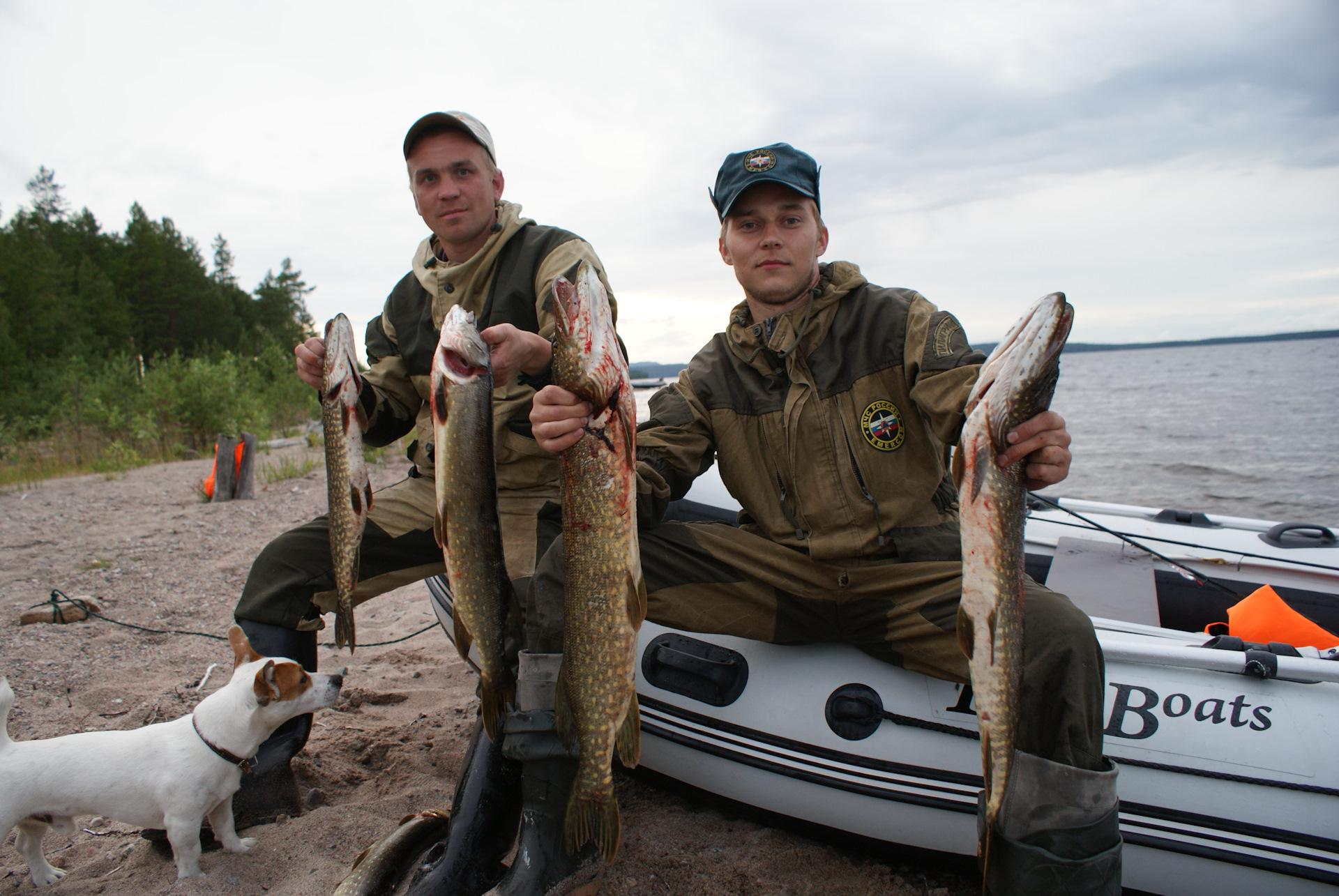 Рыбалка на Пяозере