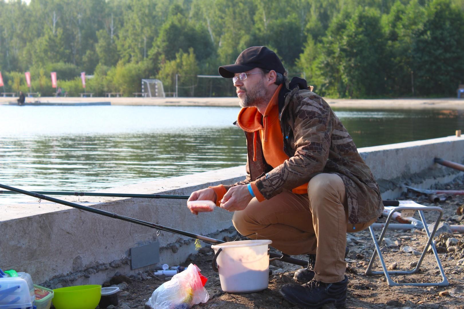 Рыбалка на озере Сугояк