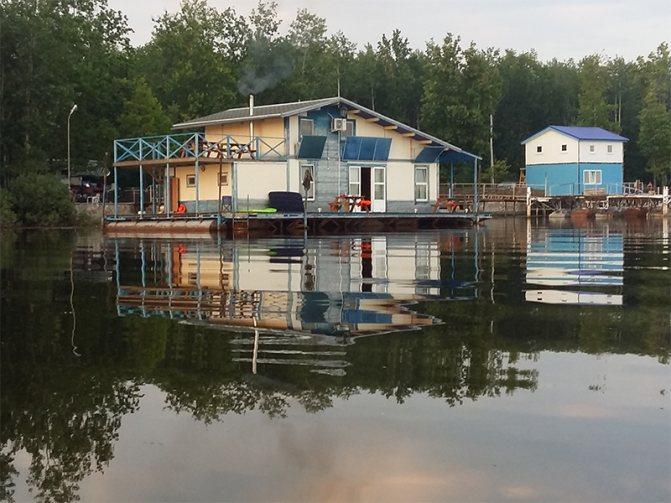 Рыболовная база Пермского края «Кама»