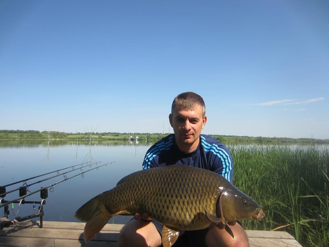 Рыбалка в Бариновке