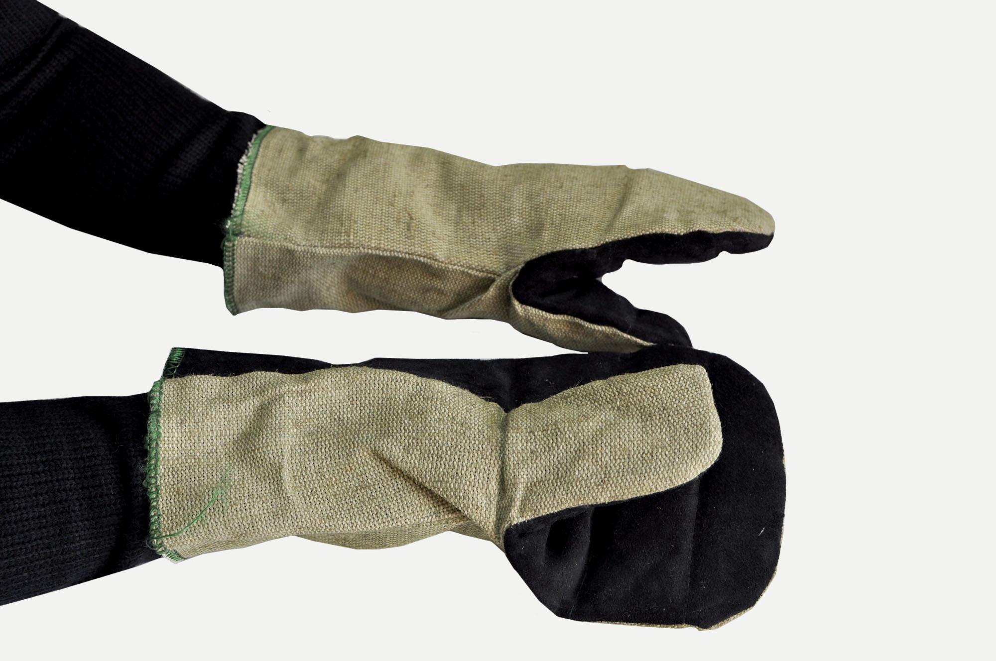 Брезентовые руковицы
