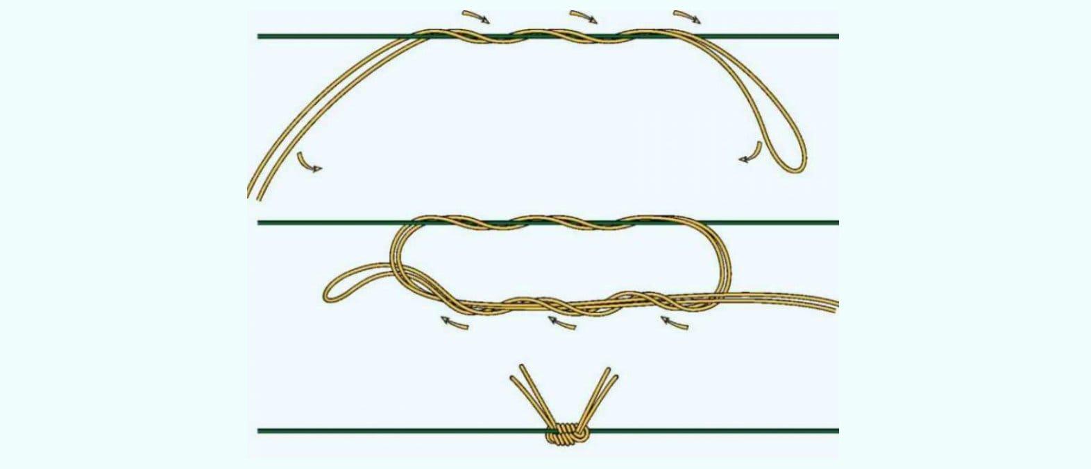как вязать стопорный узел