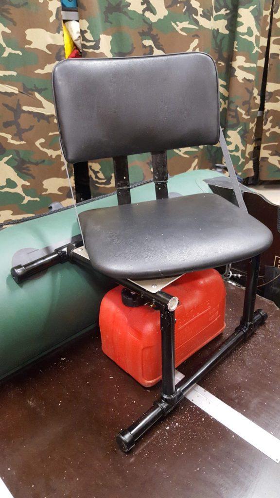 самодельное кресло в лодку
