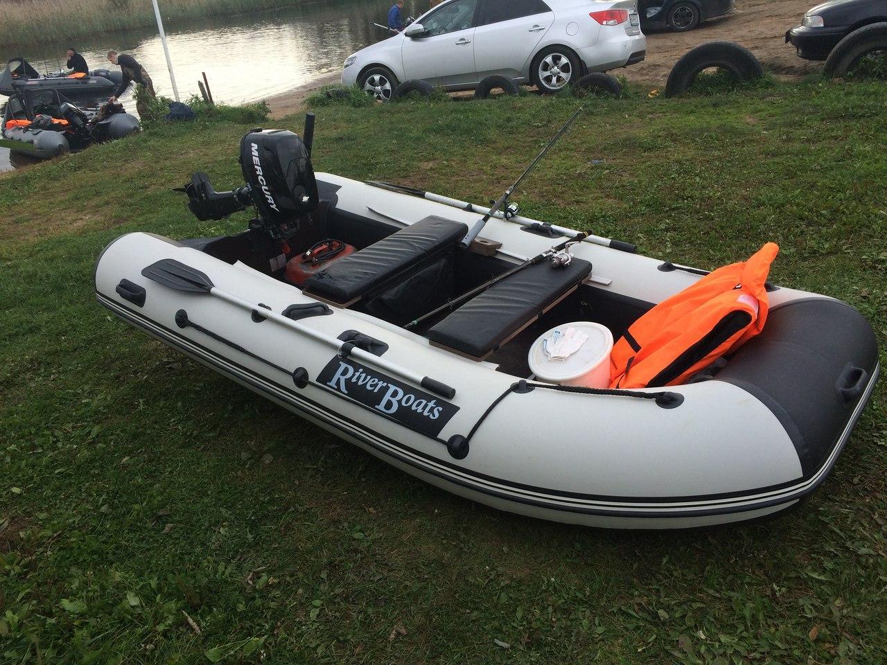 Лодка RiverBoats RB-340