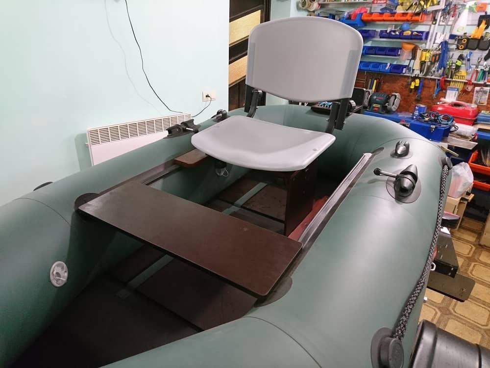 офисный стул в пвх лодке