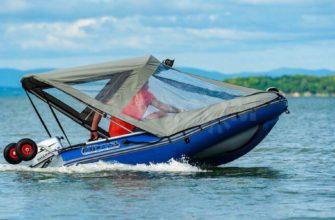 тент на лодку пвх
