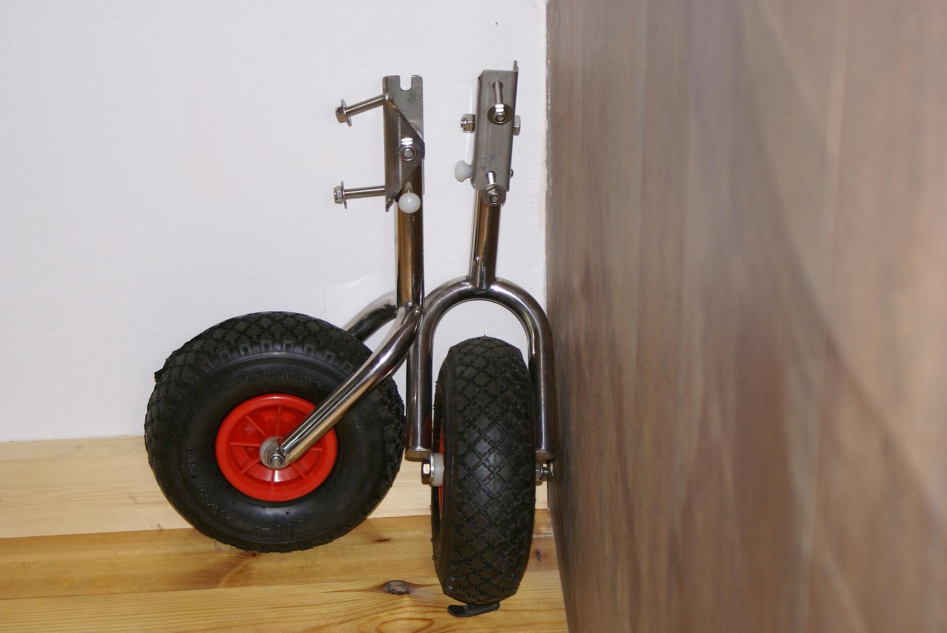 Транцевые колеса (перекидные)