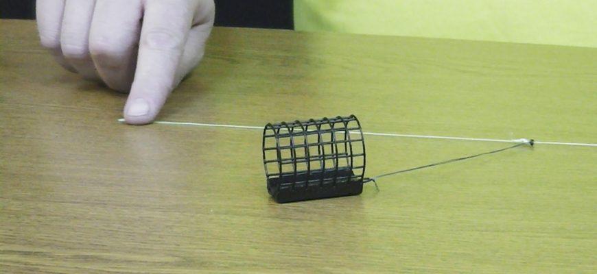 Как вязать патерностер для фидера