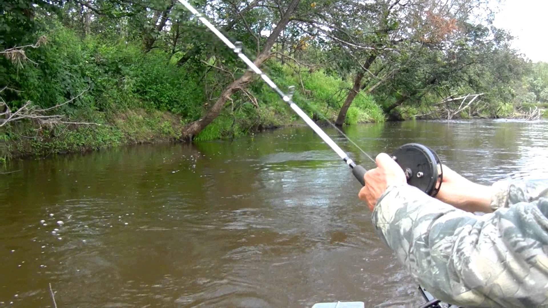 Ловля рыбы на спиннинг с инерционной катушкой