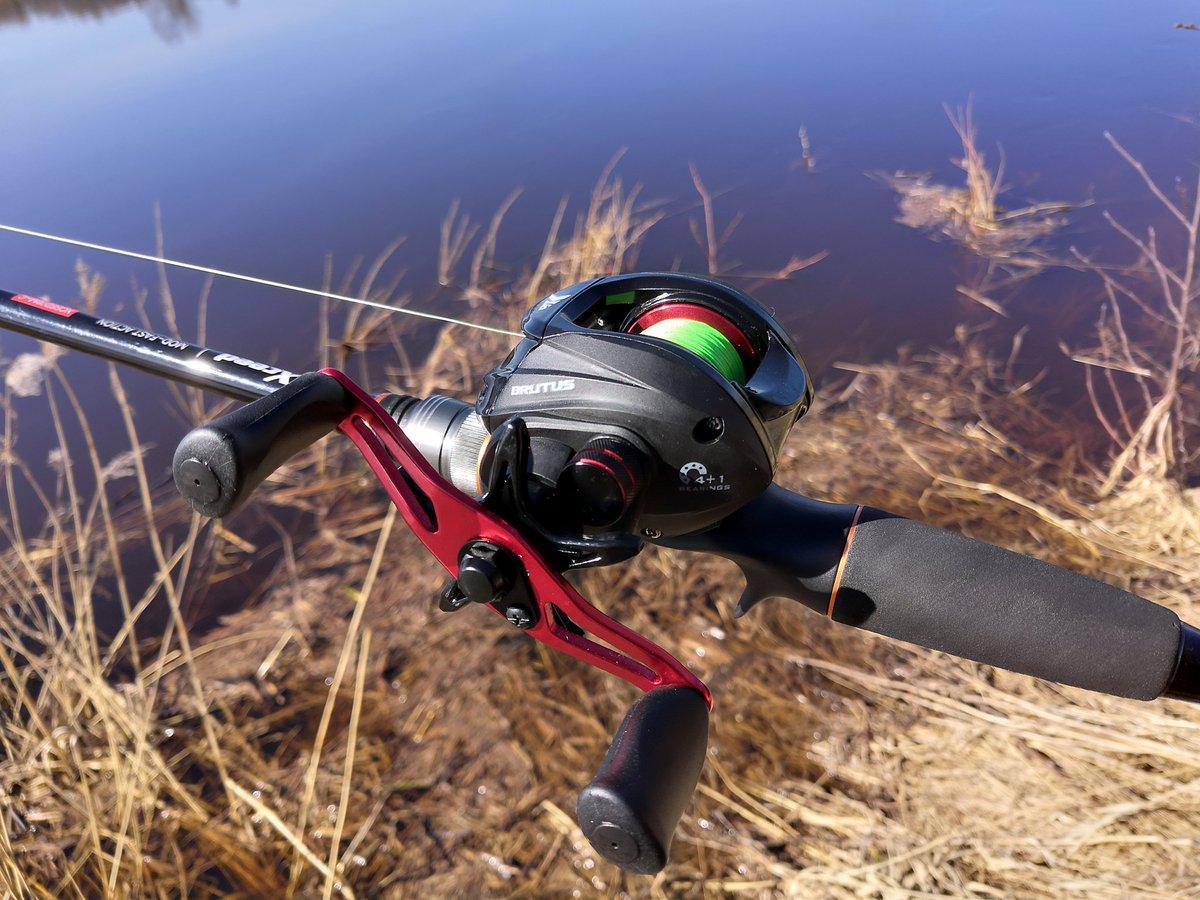 Ловля рыбы на спиннинг с мультипликаторной катушкой
