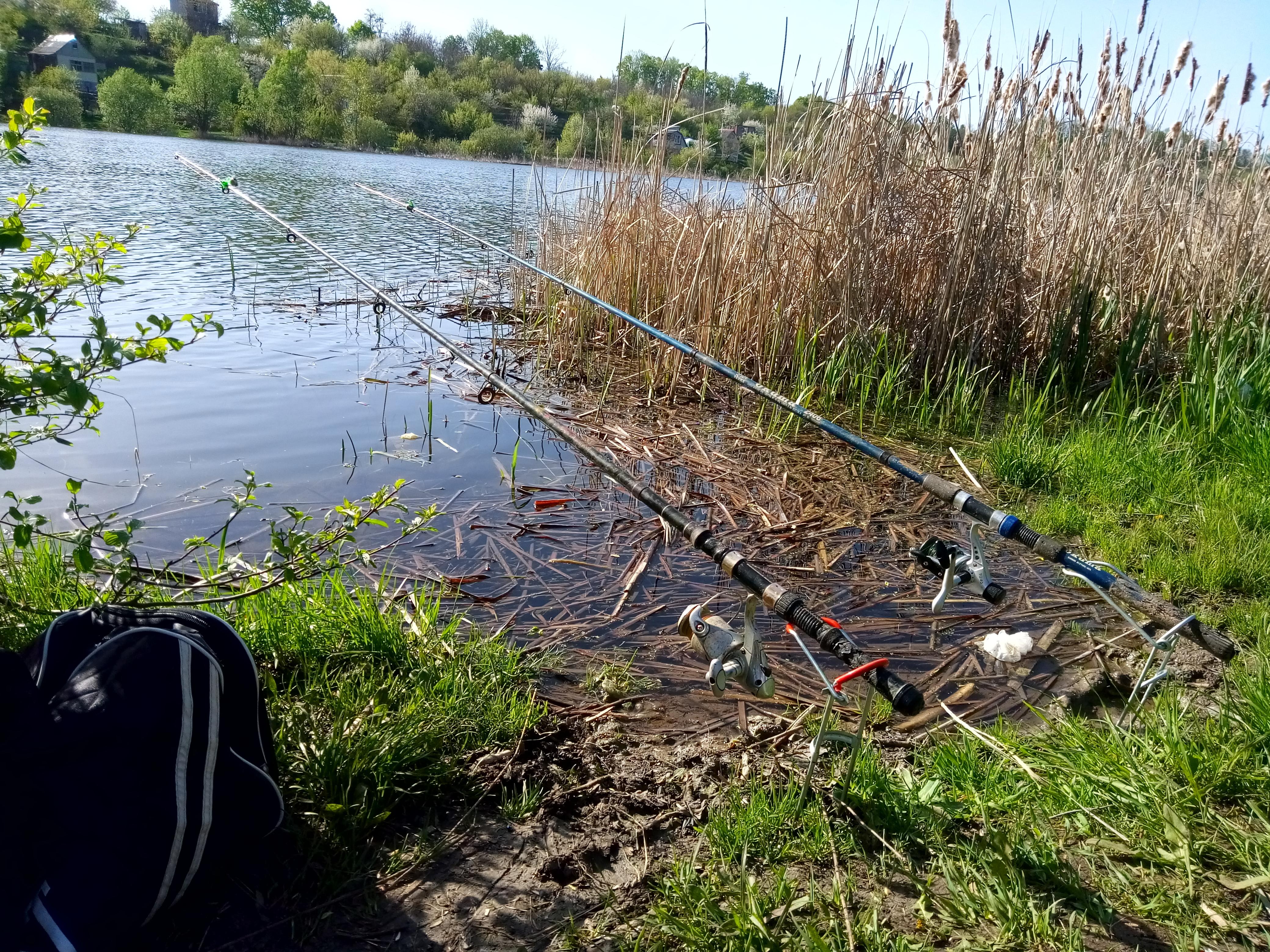 Рыбалка через донку
