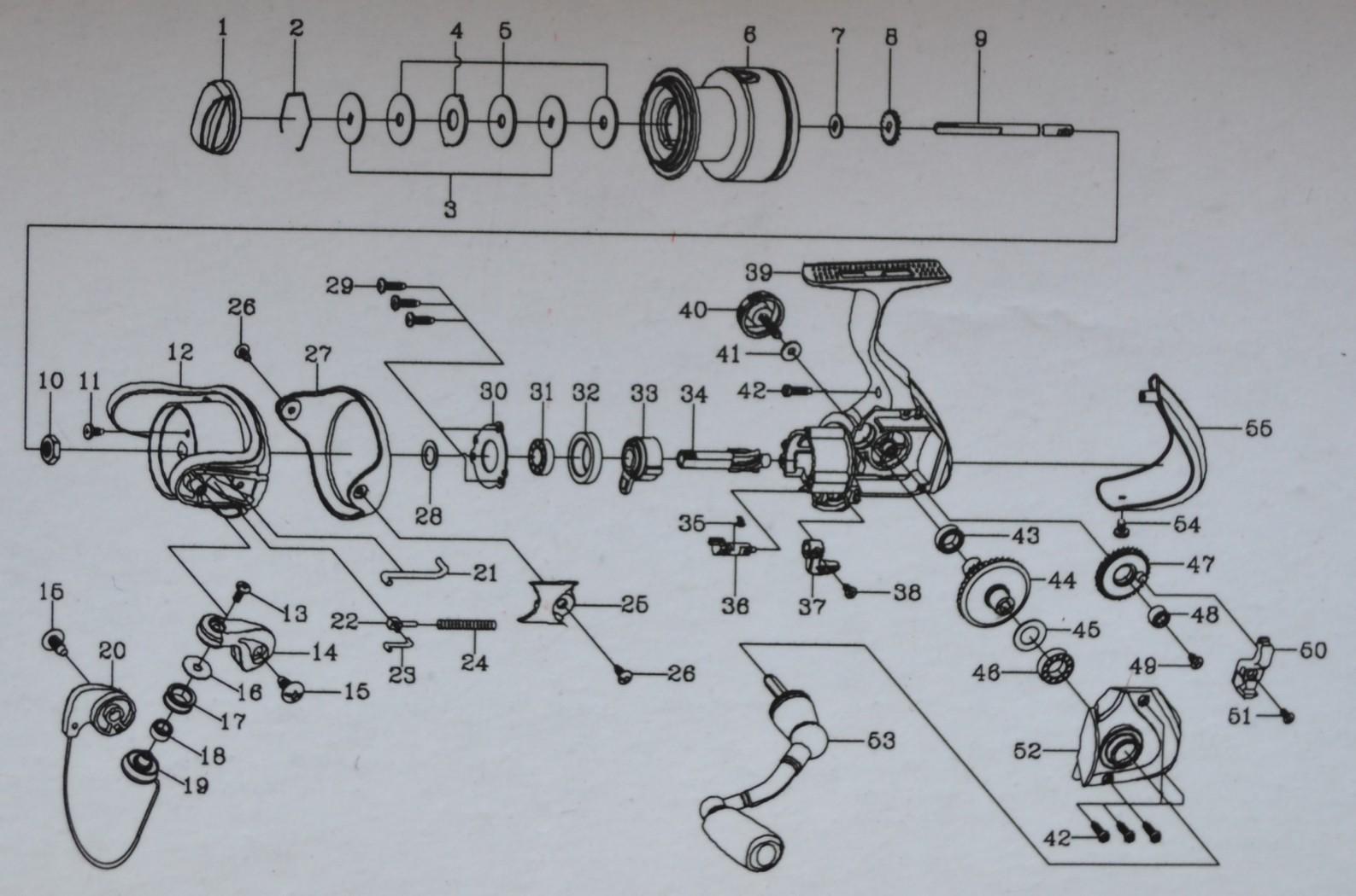 Схема безынерционной катушки